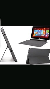 Microsoft Surface Pro Tablet, 128GB with keyboard and bag.