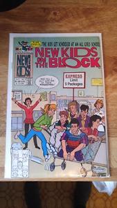 New Kids on the Block comic book.