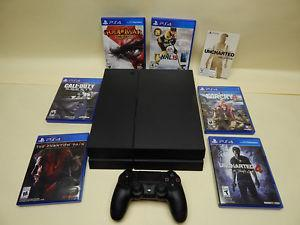 Playstation 4 console, 1 controller and 6 games. $350
