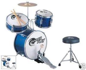 Power Play Child / Kid/ Toddler 5 piece Drum Kit / Drum Set