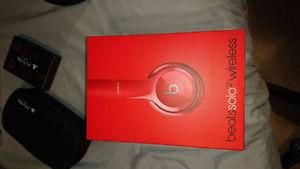 Red Beats Solo 2 Wireless