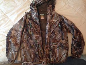Remington medium camo jacket, realtree, like new