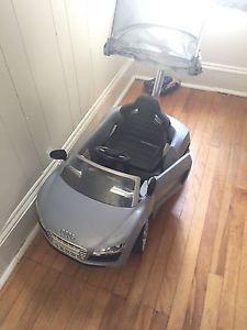 Ride on Audi car