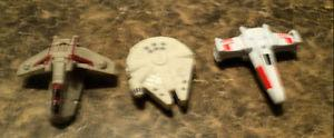 STAR WARS SPACE VEHICLE LOT