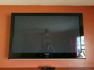Samsung led tv 50'