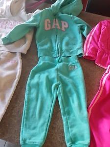 Size 2 GAP toddler girls suit