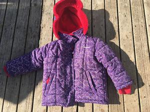 Size 4 Oshkosh 2 piece snow suit
