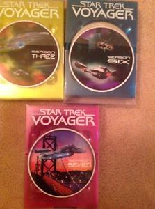 Star Trek Voyager Seasons 3,6 and  EACH