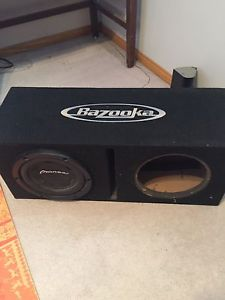 Sub woofer, amp, box, stereo