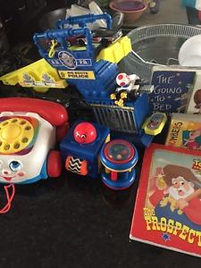Toddler Toys & Books