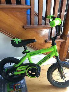 Toddler bike.
