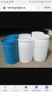 Wanted: LOOKING FOR 55 GALLON DRUM