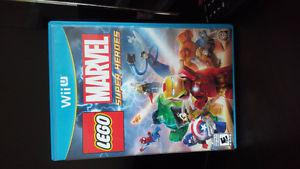 Wii U Lego Marvel Super Heroes. Excellent condition
