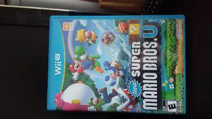 Wii U Super Mario Bros. Excellent condition