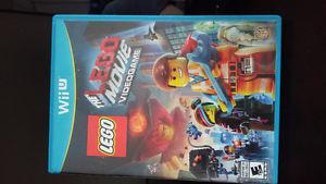 Wii U The Lego Movie video game. Excellent condition