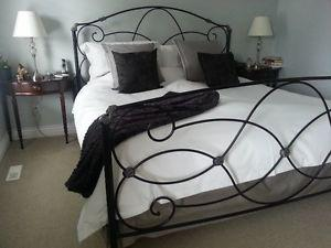 Wrought Iron Bedframe (King Size)