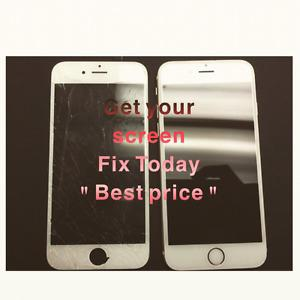 iPhone Screen Repair. Weekend special 6/$70 We Come To you!