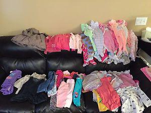 12 month baby girl clothes vguc-EUC