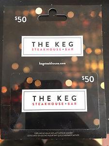 $50 The keg gift card