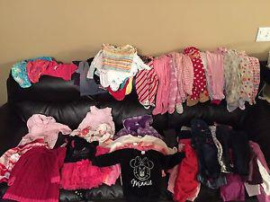 6-12 months baby girl clothes in vguc-EUC