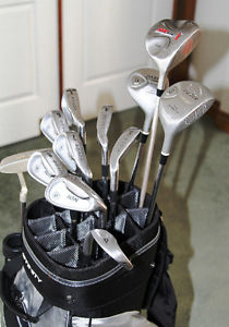 Awesome Affinity Golf Cart Bag With Golf Club Set