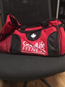 BRAND NEW- GoodLife Fitness Gym Bag