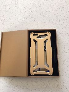 BRAND NEW iPhone 6 Plus / iPhone 6s + gold metal case
