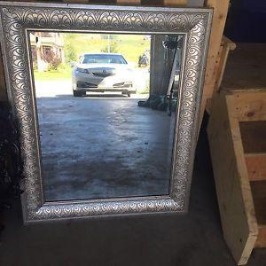 Beautiful silver mirror $100 OBO