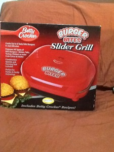 Betty Crocker Slider Grill