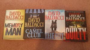 David Baldacci hardcover novel set