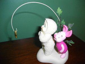 Disney Snowbabies Figurines - Piglet & Mickey