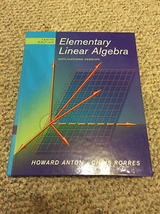Elementary Linear Algebra (10th Edition) Applications