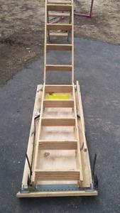 Escalier pour grenier