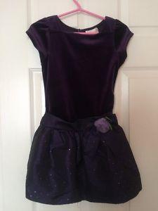 Just like new beautiful purple dress girls size 6