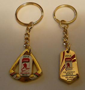 "Key chain: IIHF Ice Hockey World Championship , Belarus"""
