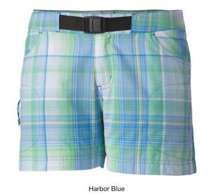 NEW WITH TAGS COLUMBIA PLAID SHORTS SIZE 12