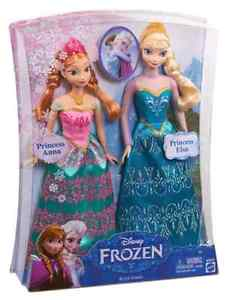 New Frozen Dolls with Frozen Items !
