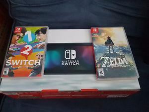 Nintendo Switch Zelda Breath of the Wild 1-2 Switch