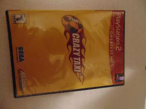 PS 2 CRAZY TAXI GAME NEW IN PACKAGE