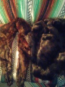 Pieces of beaver fur