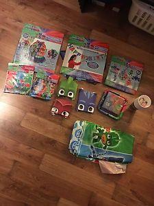 Pj masks birthday party decorations/supplies