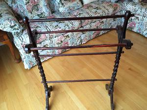 QUILT RACKS STANDS - Antique and Vintage
