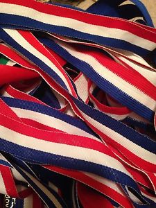 Ribbons for medals