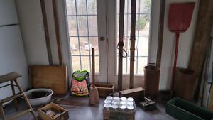 Rustic indoor sale