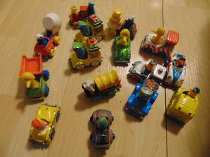 SESAME STREET / MUPPETS TOY CARS AND VEHICLES