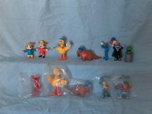 Sesame Street McDonald's Happy Meal Toys