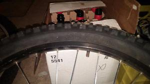 "Set of 26"" MTB rims/tires, Sunrims Ditch Witch/Rhyno Lite"