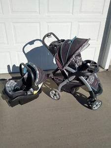 Stroller and Car Seat - Eddie Bauer
