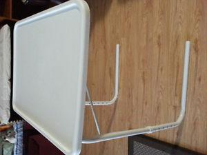 Table-Mate Adjustable White Table in excellente condition
