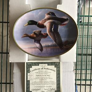Waterfowl Collector Plates